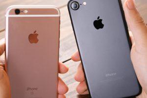 新旧iPhoneモデルの見比べ