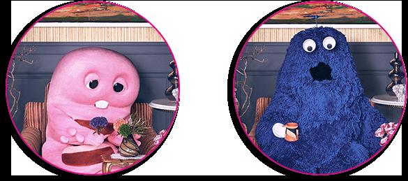 UQモバイルの家族構成_ピンクガチャとブルームクはガチャピンとムックではない模様