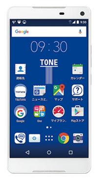 TSUTAYAのTONEモバイルの格安スマホm15の画像