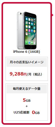 ドコモでiPhone6を購入した場合のトータル料金シミュレーション結果