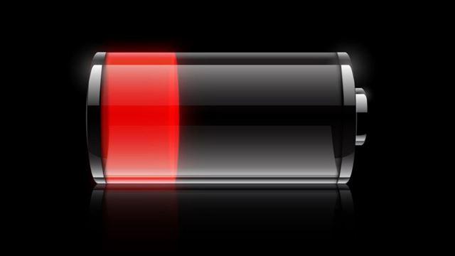 スマホのバッテリー消耗