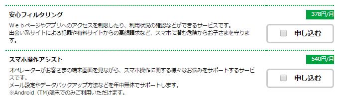 mineo申込中_4オプション選択画面_2