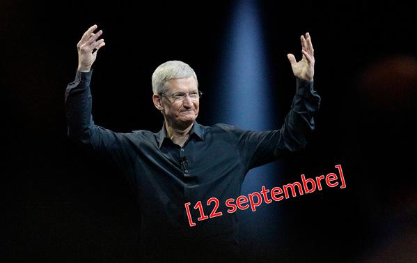 iPhoneXの発表は9月12日(日本時間で9月13日)
