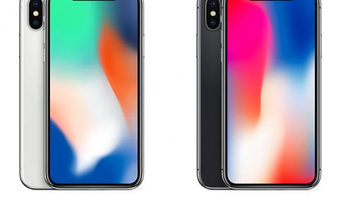 iPhone10の2色スペースグレーとシルバーの見た目