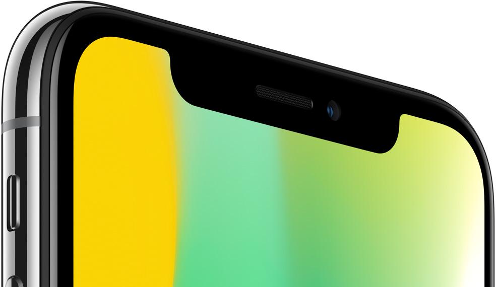 iPhoneX_Face IDを機能させるカメラやセンサー