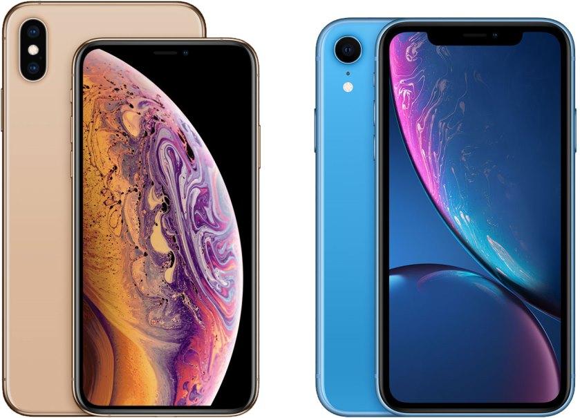 iPhoneXRとiPhoneXs