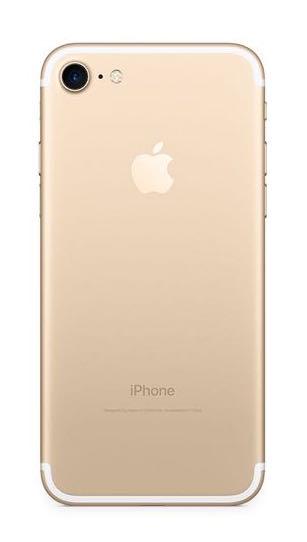 iPhone7_ゴールド
