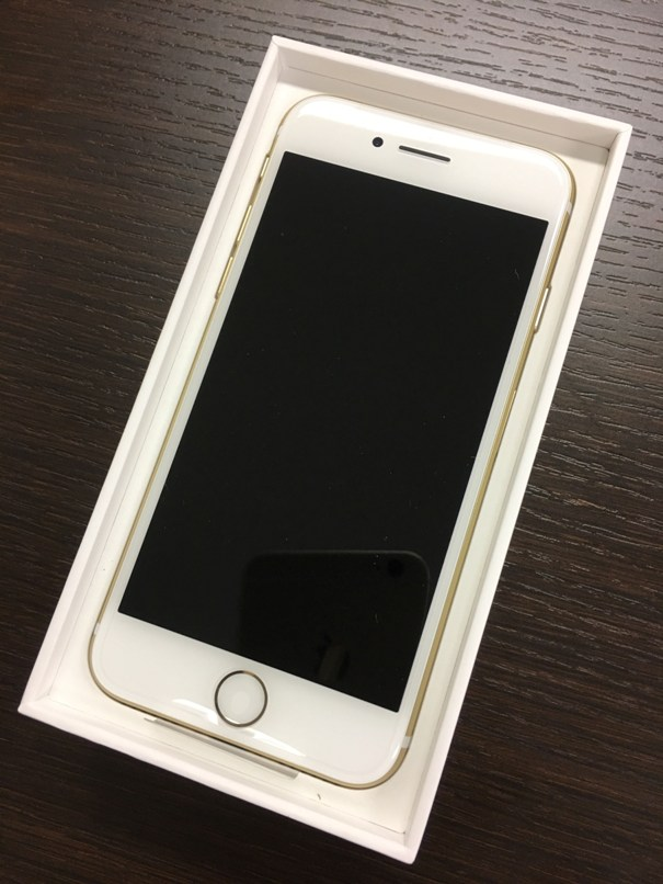 おとくケータイから届いたiPhone7を開封