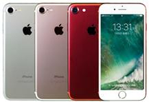 mineoでセット販売のiPhone7のカラーバリエーションはレッド、シルバー、ローズゴールドの3色