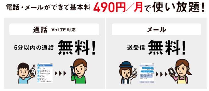 ソフトバンクの通話定額ライト基本料(みまもりケータイ/キッズフォン)