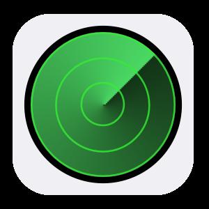 iPhoneを探す_のアプリアイコン