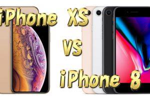 iPhoneXS VS iPhone8