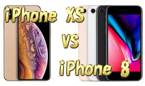 iPhoneXS VS iPhone8