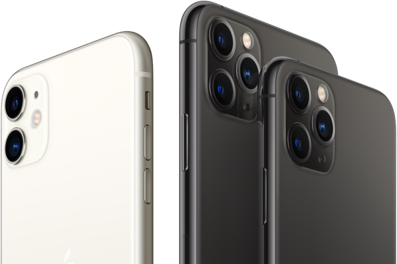 iPhone11ProとiPhone11ProMaxの公式画像